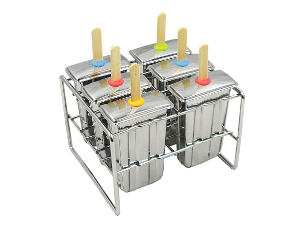 Onyx Stainless Steel Best Popsicle Molds Ice Pop Molds