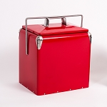 Onyx Stainless Steel Cherry Red Cooler