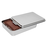 Lindys Stainless Steel Covered Cake Pan 8W44