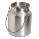 Lindys Stainless Steel Gallon Milk Jug with Lid 7708