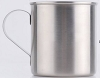 Zombi Stainless Steel Camping Mug 12 oz -- Tin Cup Style