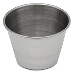 Crestware Stainless Steel 2.5 Ounce Metal Sauce Cup