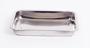 Onyx Stainless Steel Baking Casserole Dish 10.3 Inches 27 CM