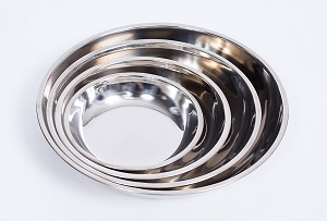 Onyx Stainless Steel Bowl Set