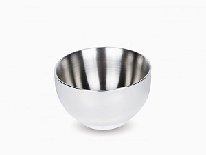 Onyx Stainless Steel Double Wall Insulated Small Bowl