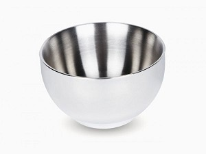 Onyx Stainless Steel Double Wall Insulated Large Bowl