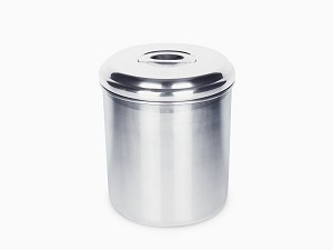 Onyx Stainless Steel Canister 4.9 Quart