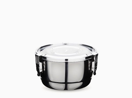 Onyx Stainless Steel Airtight Container 10cm 350ml Food