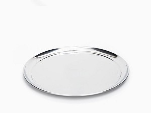 Onyx Stainless Steel Platter Large - 42cm